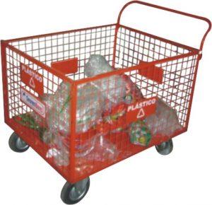 Carrinho coletor de resíduos sólidos - AM31
