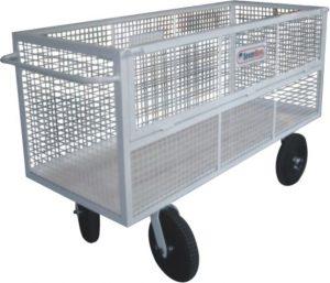 Carrinho coletor de resíduos sólidos - AM37