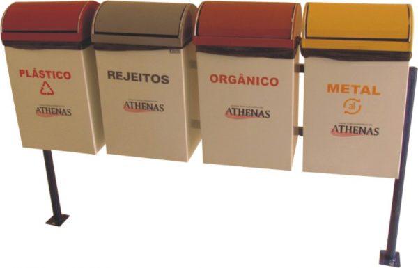 Coletor de lixo em aço - AM22(1)