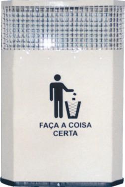 Coletor de lixo em aço - AM7(1)